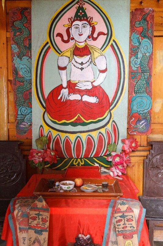 Будда в парке народности наси, Парк национальностей, Пекин