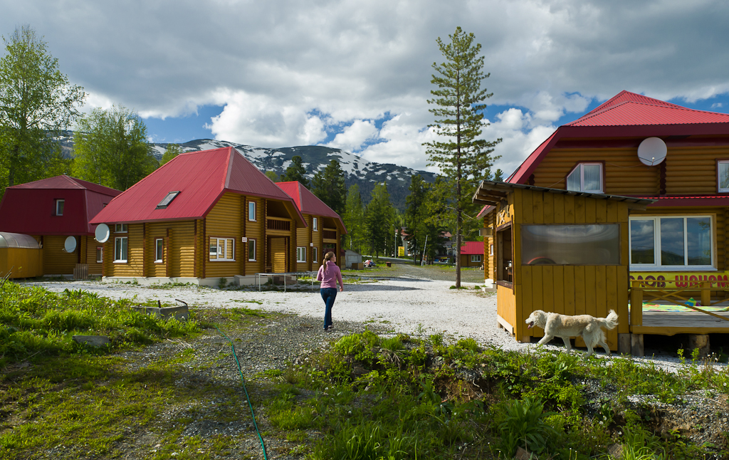Фото 7. Сибирская Швейцария. На горнолыжном комплексе Шерегеш красиво не только зимой, но и летом.