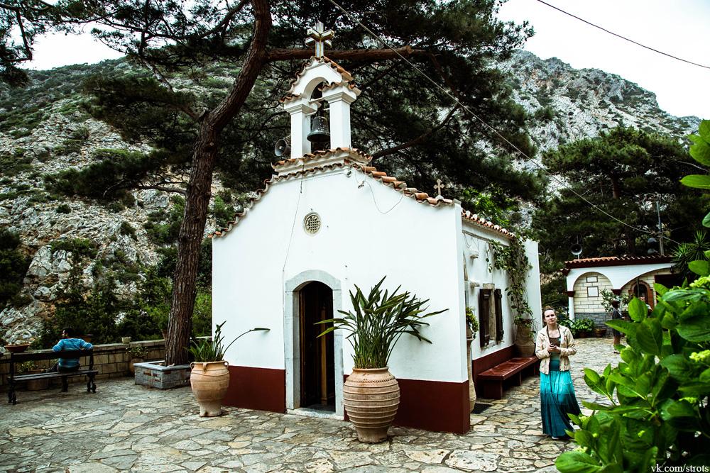 Монастырь св. Георгия (Крит)
