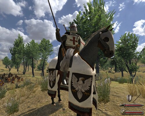 Mount And Blade Warband скачать мод Ad 1200 - фото 7