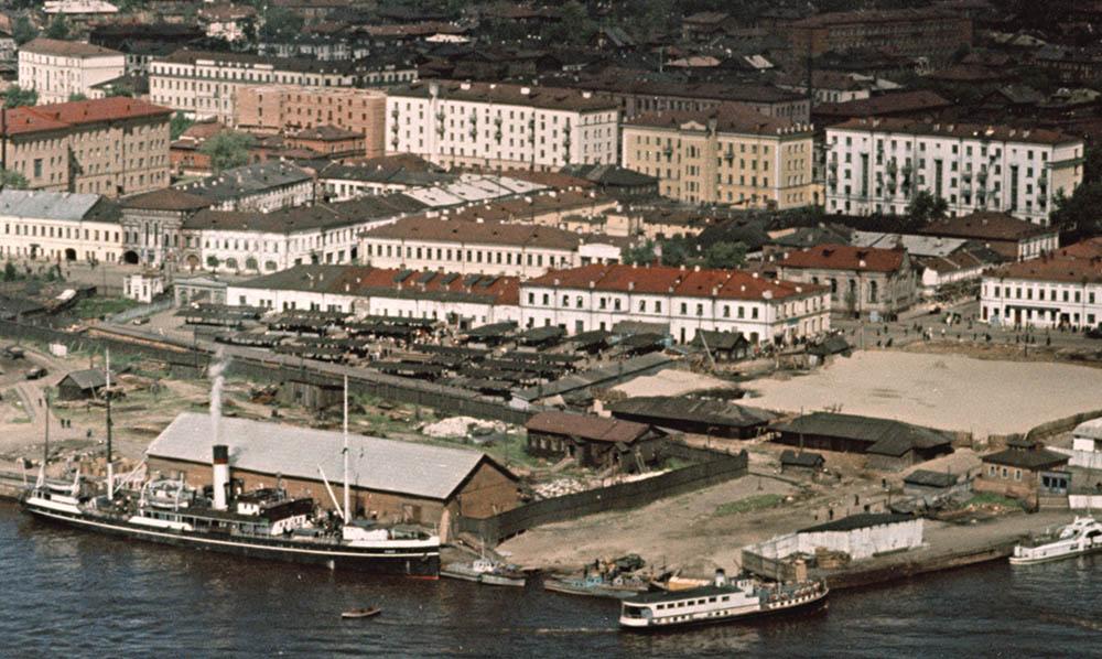 Архангельск. Рынок (середина 1950-х) фр. 1.jpg