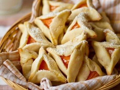 Абрикосовое печенье