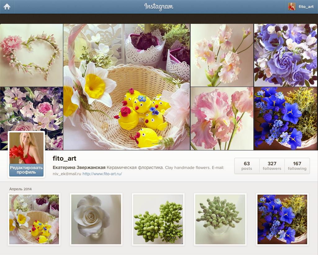 керамическая флористика instagram