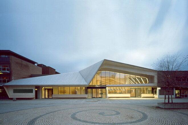 Библиотечный и культурный центр коммуны Веннесла. Норвегия