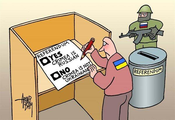 Crimea referendum © Arend van Dam