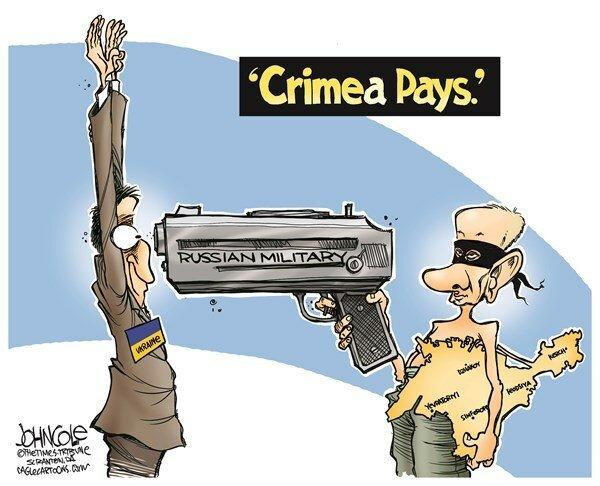Crimea Pays — March 19, 2014 © John Cole