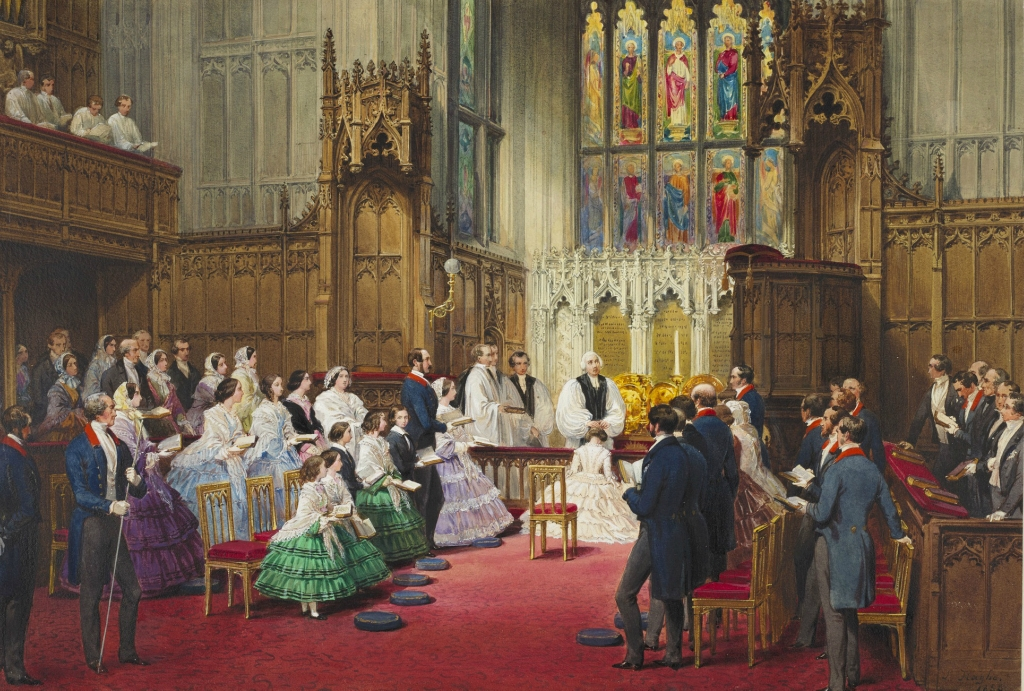 Confirmation of the Princess Royal, 20 March 1856.