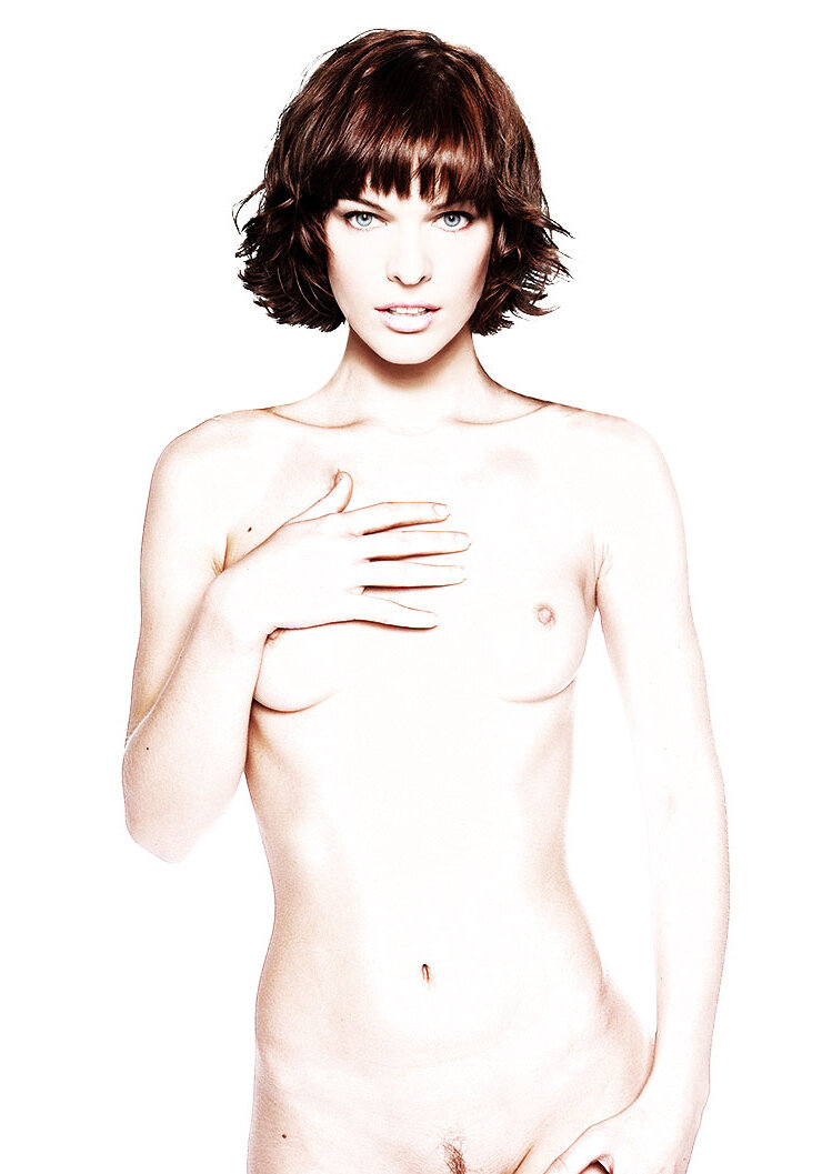 Milla Jovovich Mr Skin
