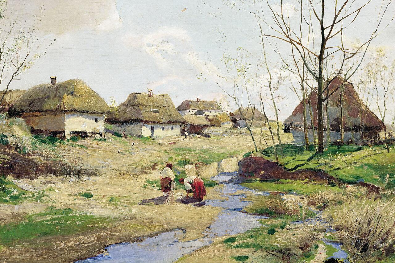 Весенний день в Малороссии
