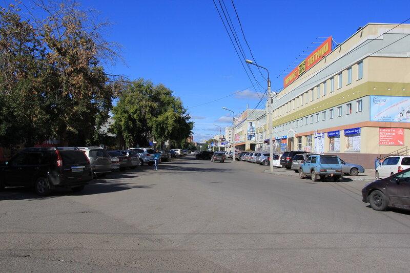 Улица Пушкина в Омске