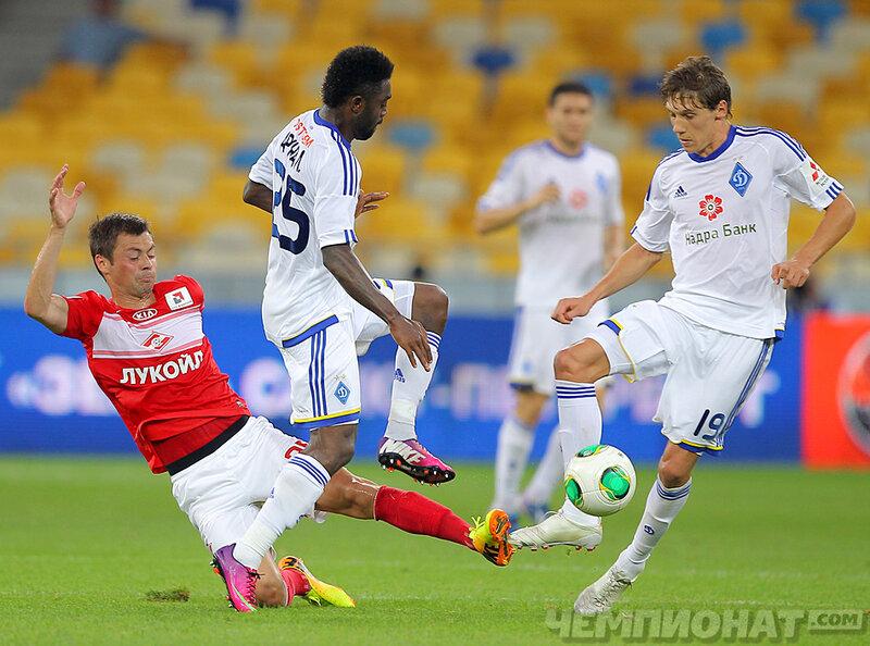 «Динамо» (Киев) vs «Спартак» 2:1 Объединенный турнир 2013 (Фото)