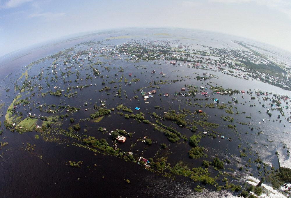 фотографии наводнения на Дальнем Востоке