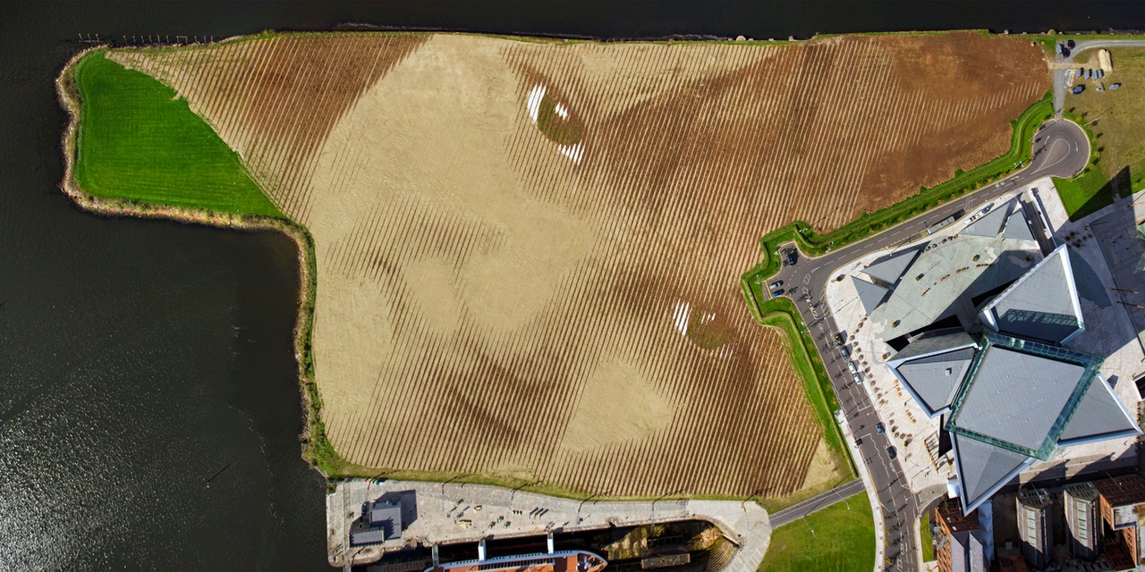 Spanning 11 acres of land in Belfast's Titanic Quarter,Wish is the portrait of an anonymous Belfast child which has been created by internationally acclaimed Cuban-American artist Jorge Rodriguez-Gerada in partnership with the City and its people.
