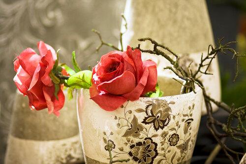 Искусственные цветы не вянут никогда
