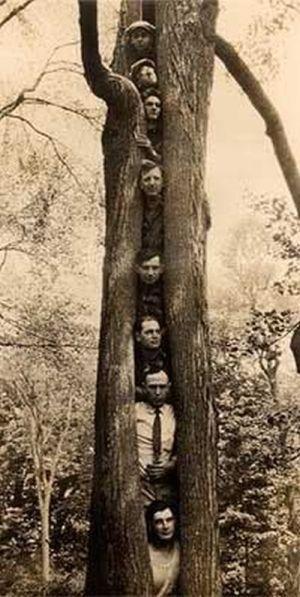 Странные люди из прошлого