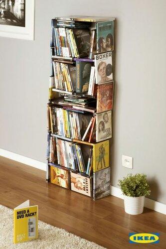 Оригинальные шкафы из книг