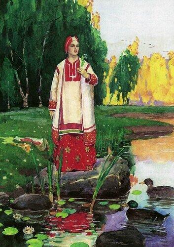 Станислав Бабюк, иллюстрации к сказам Павла Бажова