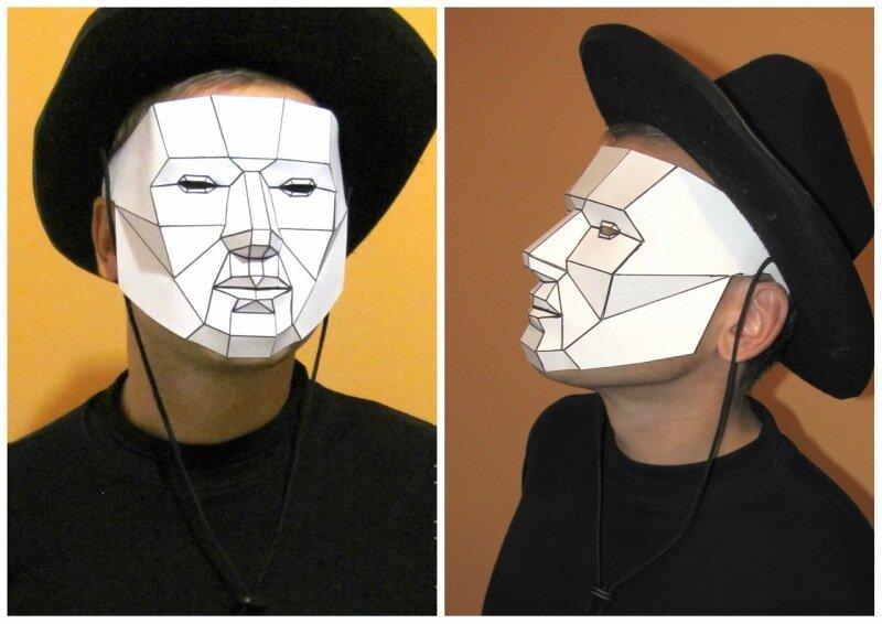 маска на Хэллоуин
