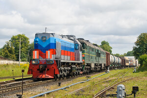 ТЭМ18ДМ-330, станция Ржев-Балтийский