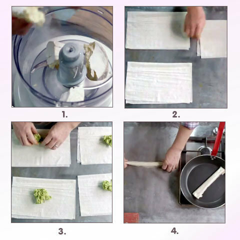 Приготовить тесто фило