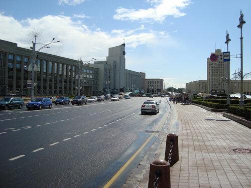 Отдых в Беларуссии: Минск, проспект Независимости