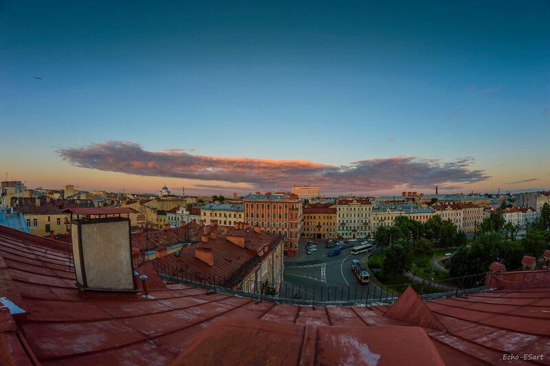 Питерские облака
