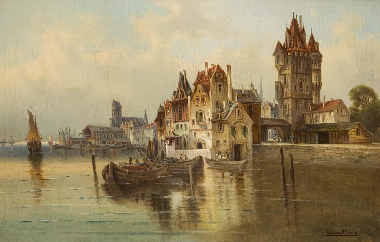 Hafen von Dordrecht
