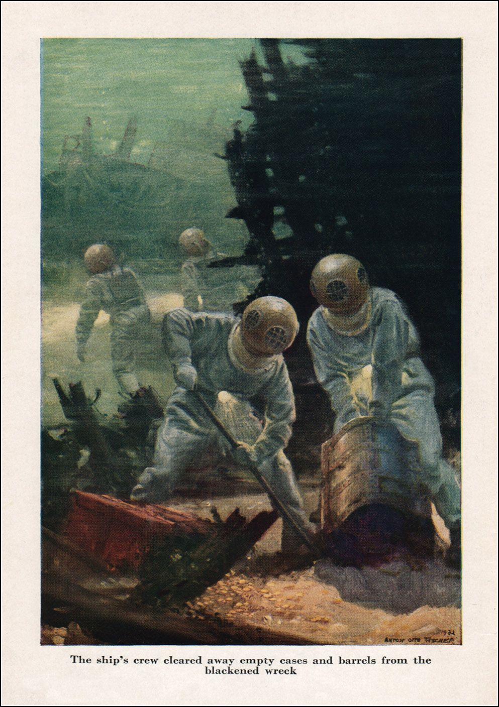 Anton Otto Fischer, Twenty Thousand Leagues under the Sea