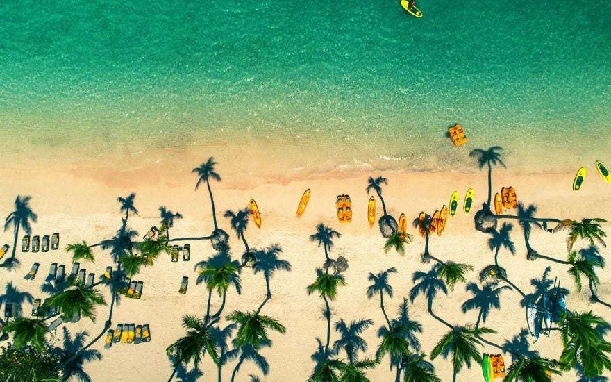 Пляж Пунта-Кана, Доминиканская Республика. Автор фото: Valentin Valkov.