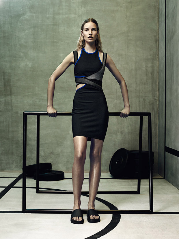 Анна Эверс (Anna Ewers) и Суви Копонен (Suvi Koponen) в рекламной фотосессии для H&M (14 фото)