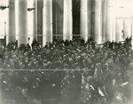 Богослужение в Екатерининском зале Таврического дворца по случаю открытия Второй Государственной думы.