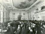Вид части зала во время совместного заседания  Государственного Совета и Второй Государственной Думы.