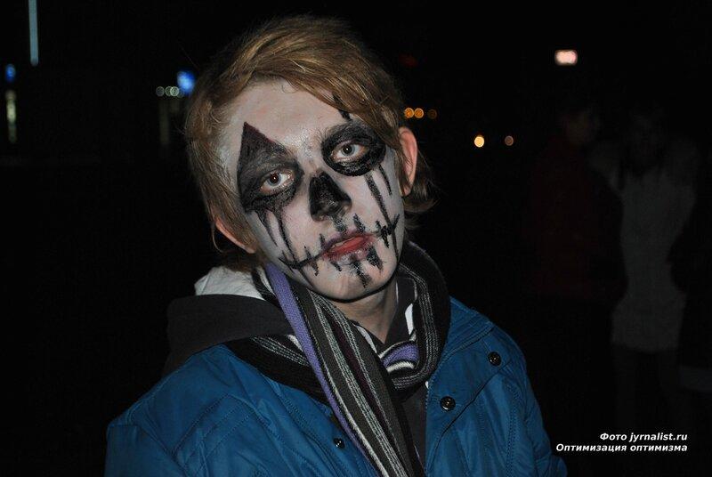 Halloween в луганске флеш-моб