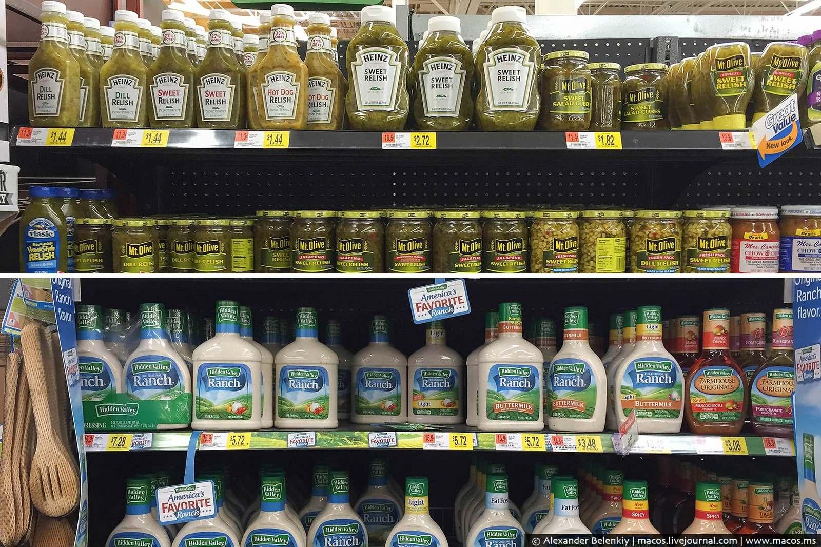 Что едят американцы? Большой тур по супермаркетам.