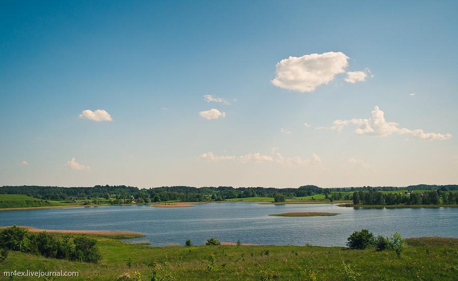 Браслав, Браславские озера, Масковичи, озеро Дерба, озеро Несьпиш
