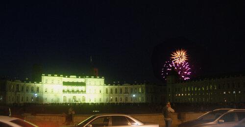 Ночь света. Западный фасад Императорского дворца