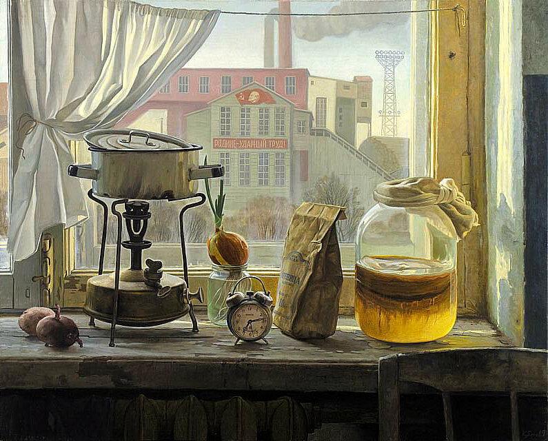 """Ф.В.Кубарев """"Утро"""". (холст, масло, 2010)"""