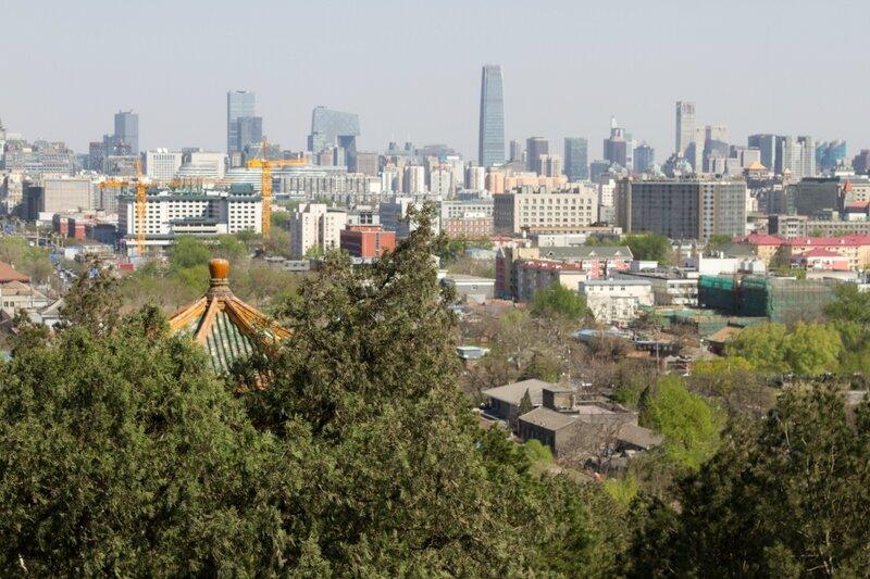 Кварталы Пекина, Парк Цзиншань, Пекин