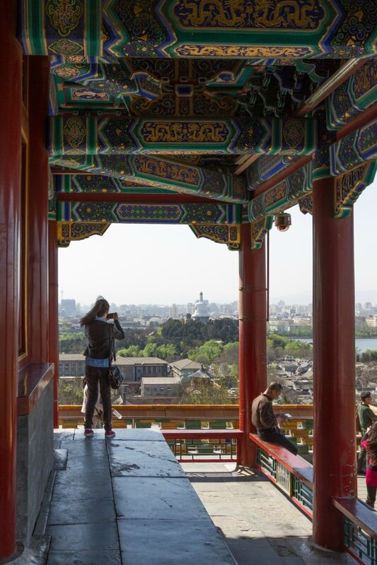 Беседка Вечной Весны (Ваньчуньтин), Парк Цзиншань, Пекин