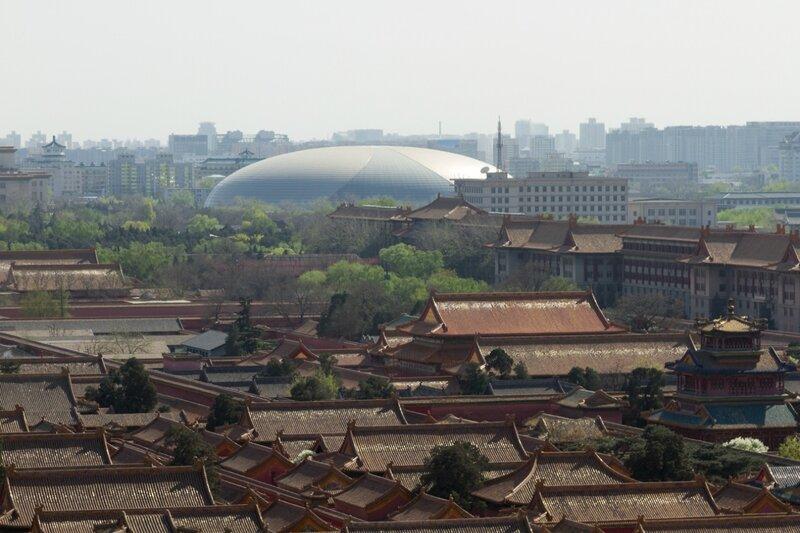 Гугун, Национальный центр исполнительских искусств, Пекин