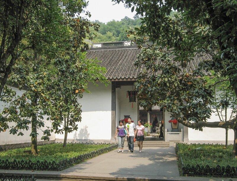 Вход в даосский монастырь, Хуанлундун, Ханчжоу