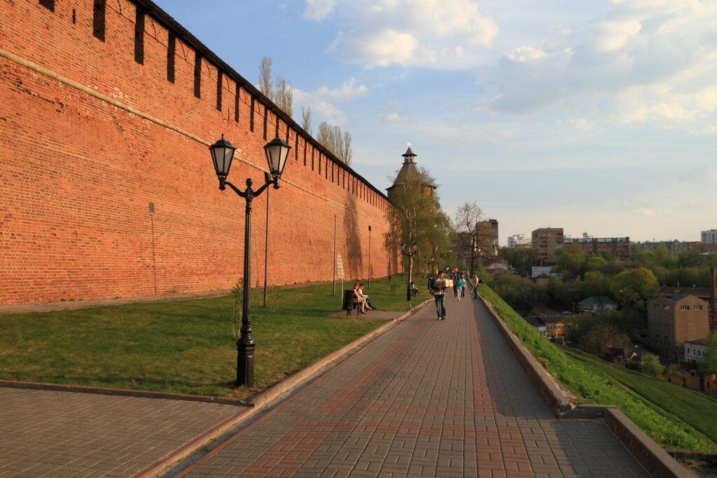 Стена Нижегородского кремля