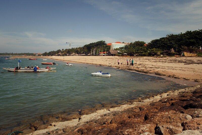 Пляж отеля Club Bali Mirage