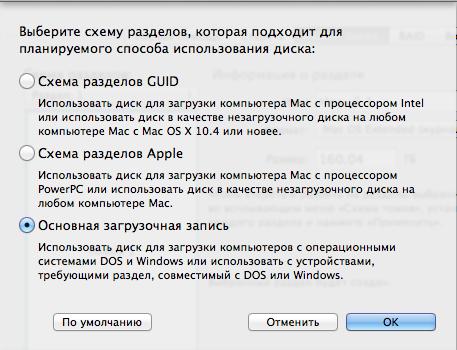 форматировать жесткий диск mac