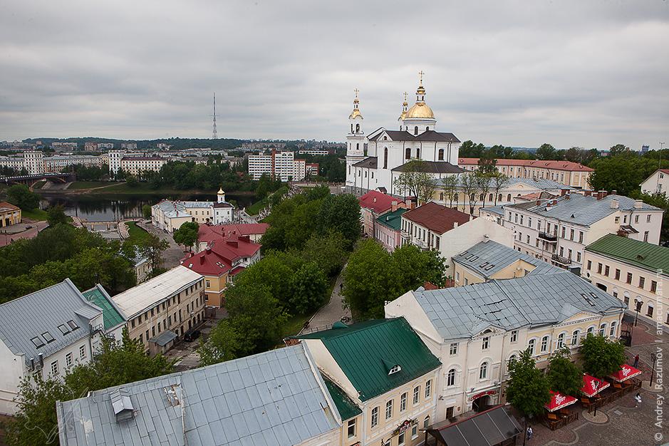 Витебск с высоты
