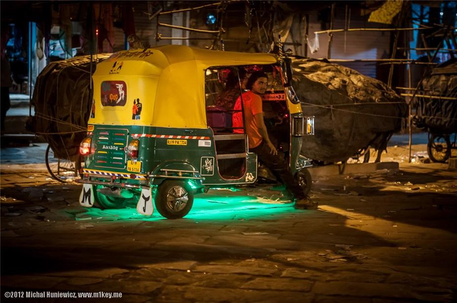 рикши - путешествие по Индии / India by Michal Huniewicz