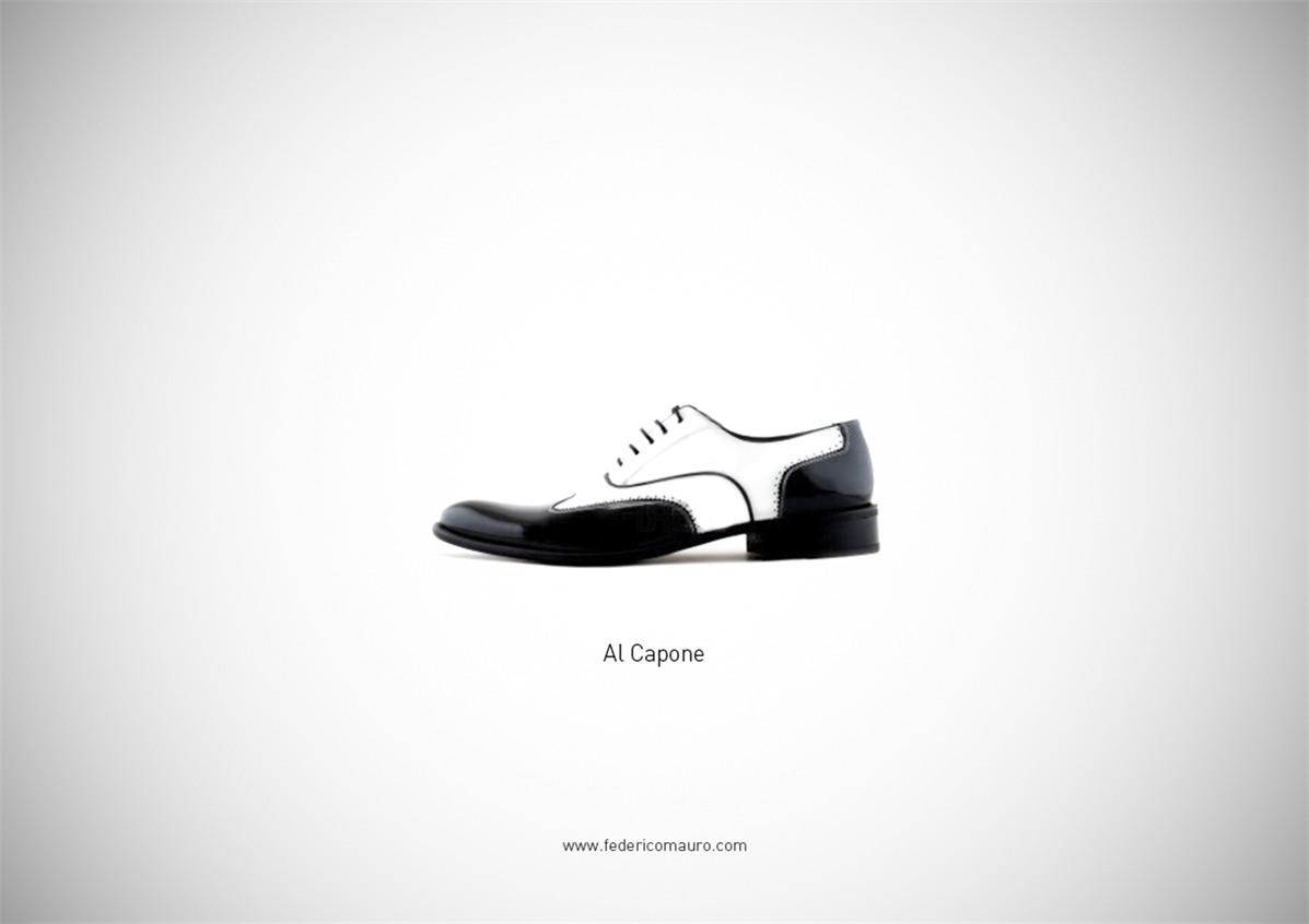 Знаменитая обувь культовых персонажей / Famous Shoes by Federico Mauro - Al Capone