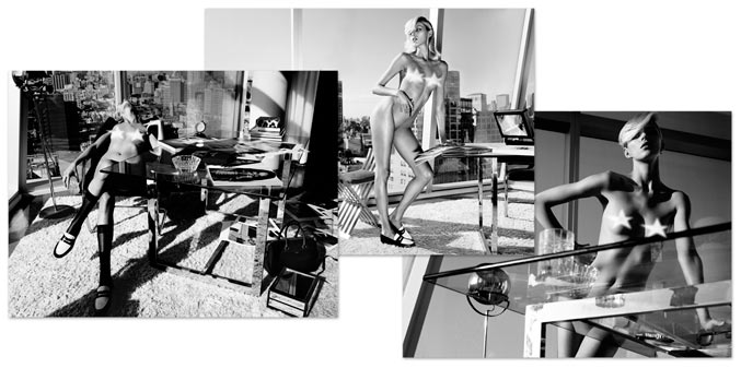 голая Аня Рубик / Anja Rubik by Paola Kudacki in Industrie Magazine #6, 2013