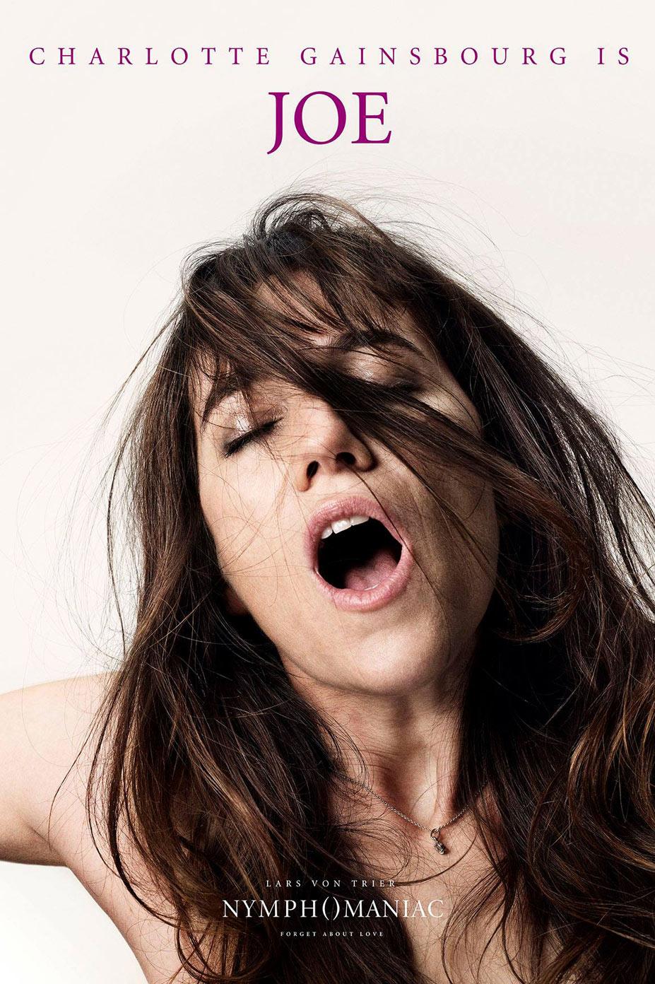 Постеры к фильму Нимфоманка / Nymphomaniac posters by Casper Sejersen - Charlotte Gainsbourg is Joe