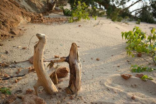 водохранилище песчаный